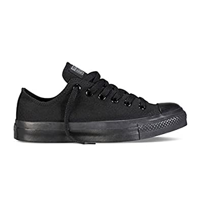 Converse Chuck Taylor All Star Classic Low Skate Shoes - Black Monochrome