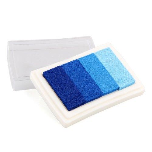 Almohadillas de tinta artesanal Sellos lavables creativos Socio DIY Multicolor Almohadilla de sello artesanal para sellos Papel Papel Tela de madera Conjunto de 6