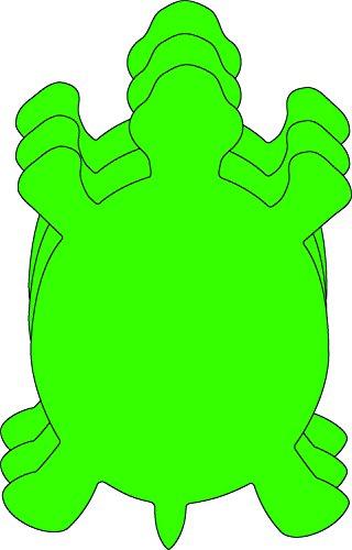 Turtle Large Single Color Creative Foam (Turtle Cut Out Design)