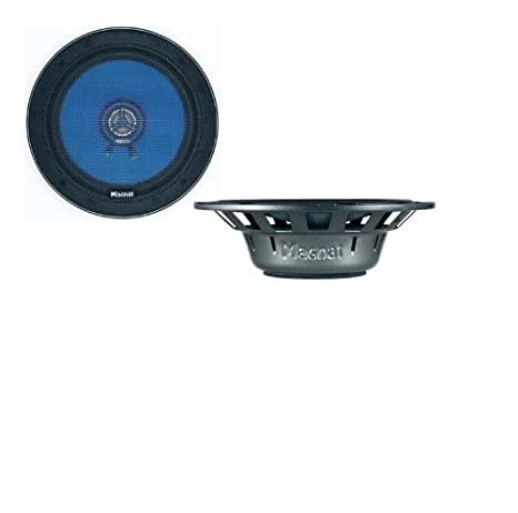 Magnat Profection 102 2-Wege 10 cm Auto-Koaxial-Lautsprecher (50/200 Watt) schwarz/blau Magnat Audio Produkte 111 510 10cm Autolautsprecher