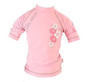 PIWAPEE - Tee-shirt anti-uv la petite vahinee rose 12-24mois