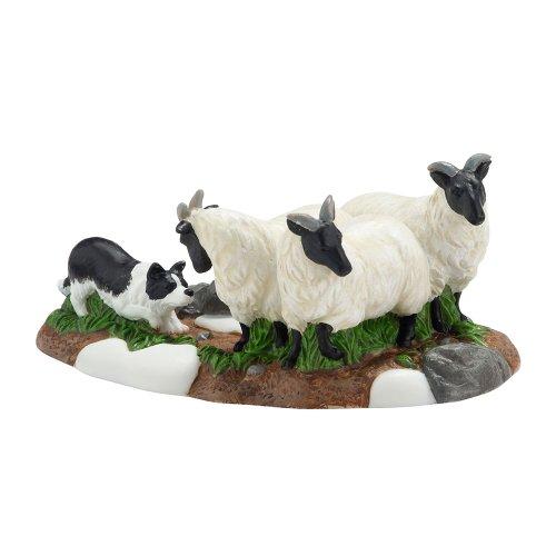Department 56 Dickens Village Champion Herding Dog Figurine Accessory, 1.875 inch