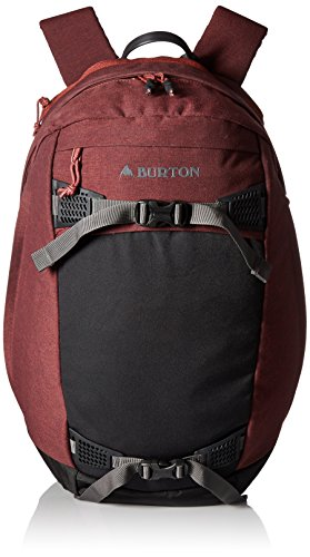 Burton Day Hiker Backpack 28L, Fired Brick Heather, One Size/28L