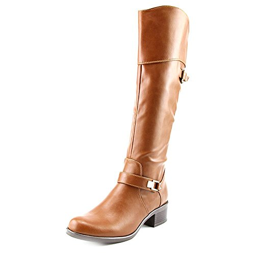 Alfani Fidoe Round Toe Synthetic Knee High Boot Chestnut WCtGcCOoy