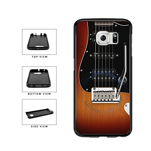 - BleuReign(TM) Detailed Guitar Strings TPU RUBBER SILICONE Phone Case Back Cover For Samsung Galaxy S6 Edge Plus