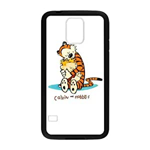 Super Artswow Samsung Galaxy S5 Calvin and Hobbes Cartoon Custom Plastic TPU Cell Phone Case