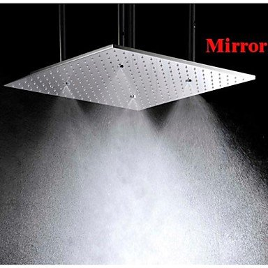 20 Inch Stainless Steel 304 Ceiling Mounted Bathroom Shower Head With Atomizing And Rainfall Two Water Functions Kitchen and bathroom supplies