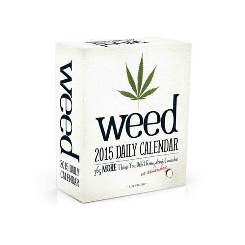 Weed 2015 Daily Calendar