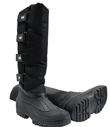 Botas de correr térmico negro Lindal | Botas de correr de invierno | Botas de invierno | Botas de equitación, Gr, 36