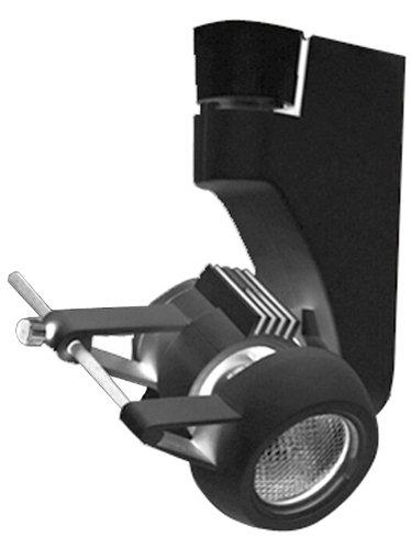 Jesco Lighting HMH270ES1620-B Contempo 270 Series Metal Halide Track Light Fixture, ES16, 20 Watts, Black Finish