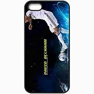 Personalized iPhone 5 5S Cell phone Case/Cover Skin 2013 david beckham Black