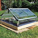 Palram Cold Frame Double 3ft. x 3ft. Mini Greenhouse