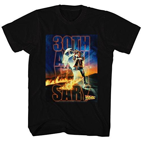 2bhip 30e Pour Au Noir Future Des Homme 80 Années Comédie shirt Spielberg Retour Tee Film rTtTq