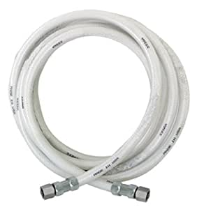 Eastman 48380 Reinforced Pvc Icemaker Connector, 1/4-Inch Comp X 1/4-Inch Comp