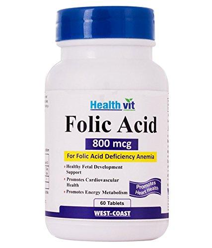Healthvit Folic Acid 800 Mcg 60 Tablets