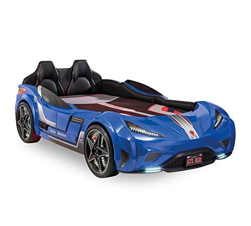Cilek Autobett GTS Blau Matratze ohne Matratze