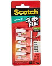 Scotch Single Use Super Glue Gel, Transparent