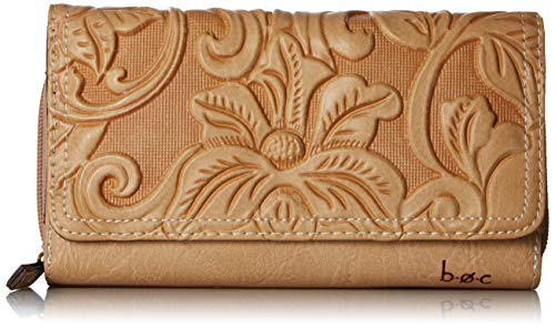 b.o.c. Womens Millstone Deluxe Wallet Luggage One Size