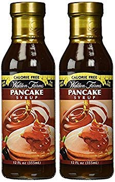 Walden Farms Pancake Syrup, 12 Ounce Pack of 2