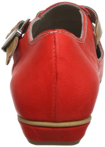Accatino 941242 Damen Slipper Rot (rot 4)