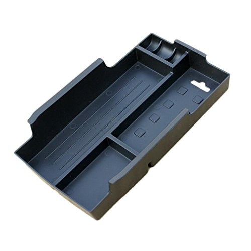Vesul Armrest Secondary Storage Box Glove Pallet Fits on Toyota Camry 2012 2013 2014 2015 2016 2017