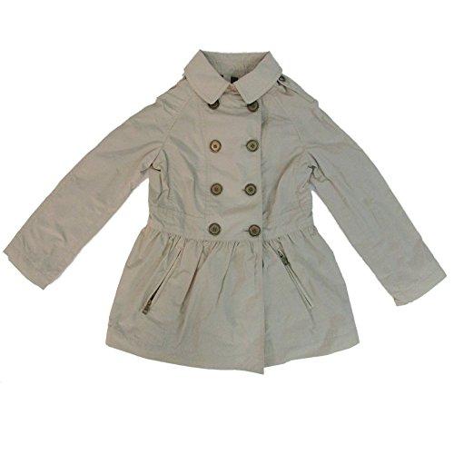 Burberry Children Girls Mini Mantlebury Trench Coat Jacket 8Y Beige