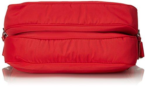 piero guidi Lineabold Daytime Borsa a Tracolla, 32 cm, Rosso