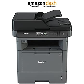 Brother MFCL5700DW Business Laser All-in-One with Duplex Printing and Wireless Networking, Amazon Dash Replenishment Enabled
