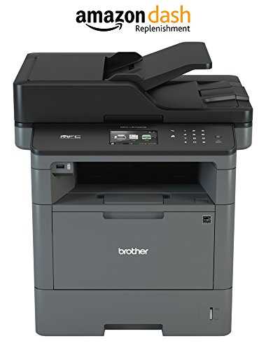 Brother MFCL5700DW Business Laser All-in-One with Duplex Printing and Wireless Networking, Amazon Dash Replenishment Enabled by Brother