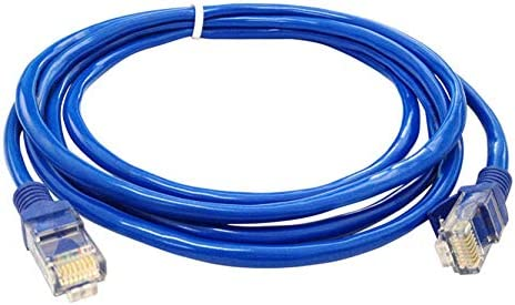 Cable Length: 33ft ShineBear Fast Blue Ethernet Internet LAN CAT5e Network Cable for Computer Modem Router Jun 24