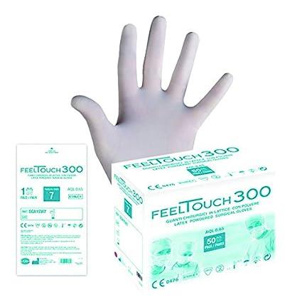 Guanti chirurgici LATTICE sterili con polvere misura 6 - 50 paia ... 644dba5b9cca