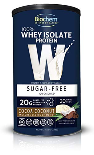 (Biochem 100% Whey Protein - Cocoa Coconut - Sugar Free - 11.5 Ounce)