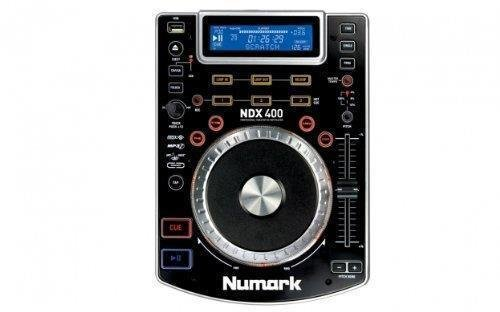 Numark NDX400 Touch-Sensitive CD player with USB Flashdrive Slot by Numark