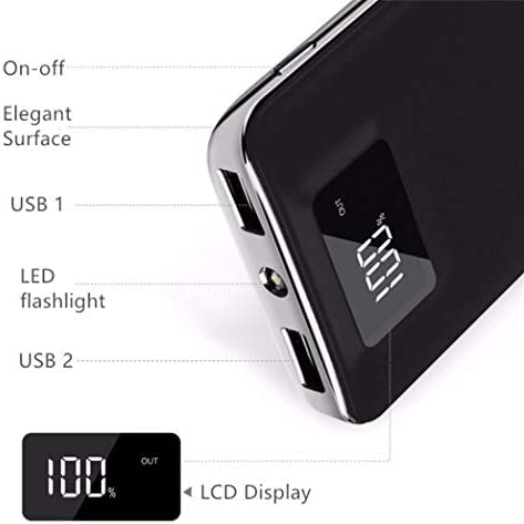 Digital Portable Capacity Flashlight External product image