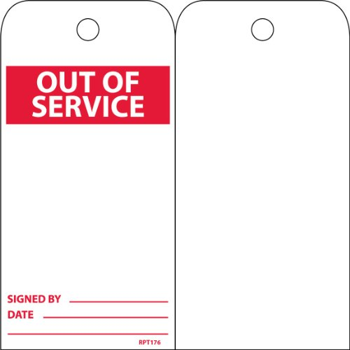out of service tags - 9