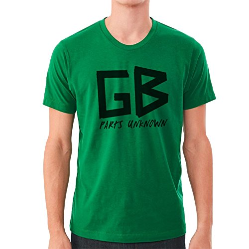 GB Parts Unknown Green T-Shirt M