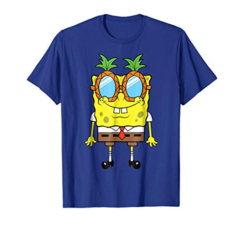 Nickelodeon Spongebob Squarepants Pineapple Glasses T-Shirt