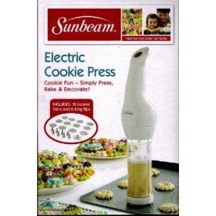 Sunbeam Electric Cookie Press