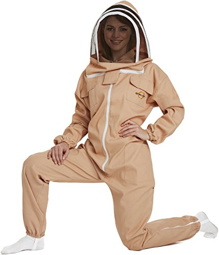 NATURAL APIARY - Apiarist Beekeeping Suit - Sand - (All-i...