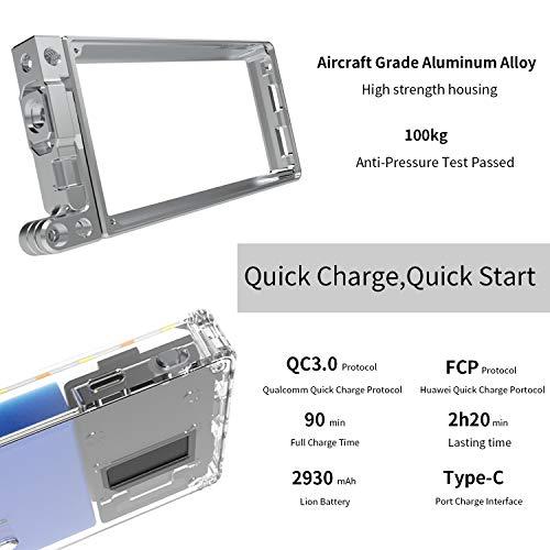 ANDYCINE Vlogger Boling P1 Pocket RGB LED Video Light 2500K-8500K Bi-Color On Camera Video Studio Light with CRI 96+ Built in Battery by ANDYCINE (Image #6)