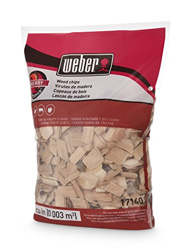 Weber Cubic Meter Stephen Products 17140 Cherry Wood Chips, 192 cu. in. (0.003 cub, 2 lb - http://coolthings.us