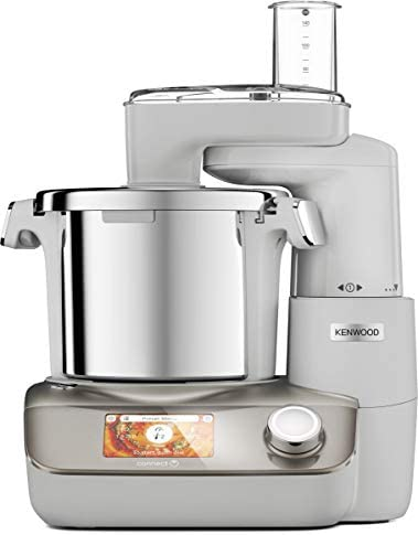 Kenwood CookEasy + CCL50.A0CP Robot da Cucina con Funzione Cottura e Connesso a Kenwood APP