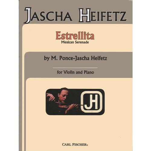 Ponce - Estrellita ( My Little Star ). Violin & Piano. Published by Carl - Carl Fischer Keyboard