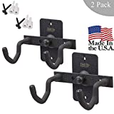 Hold Up Displays Handgun Hanger and Gun Storage (2 Pack) for Holding Colt Smith and Wesson SIG Ruger Pistols - Heavy DutySteel - Made in USA