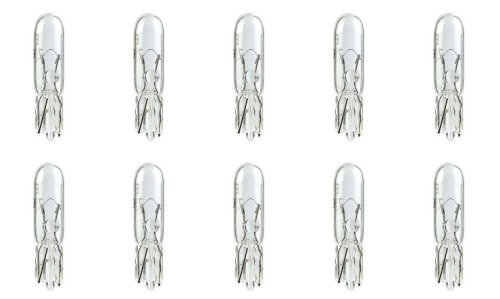 CEC Industries E74 Bulbs, 14 V, 1.4 W, W2x4.6d Base, T-1.5 shape (Box of 10)