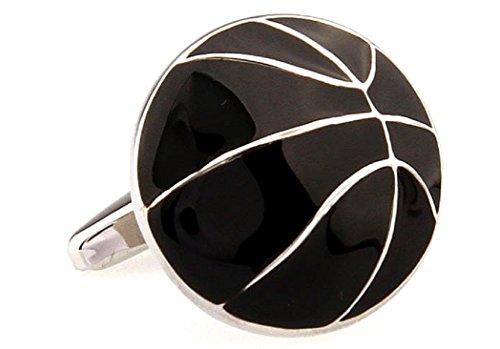 - MRCUFF Basketball Pair Cufflinks in a Presentation Gift Box & Polishing Cloth