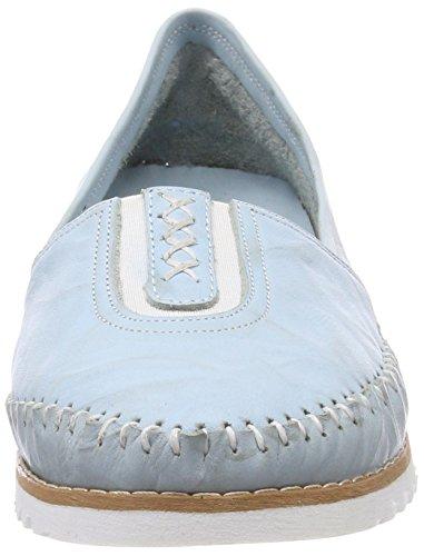Andrea Conti Pantoufle De Dame 0025710 Bleu (bleu Clair)