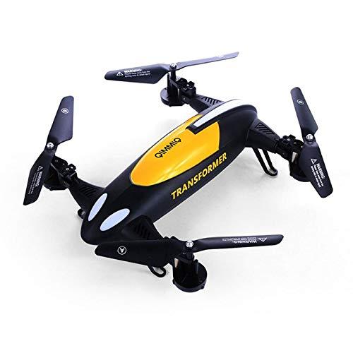 Qimmiq Transformer - Dron con cámara HD de 2 MP, Color Negro y ...