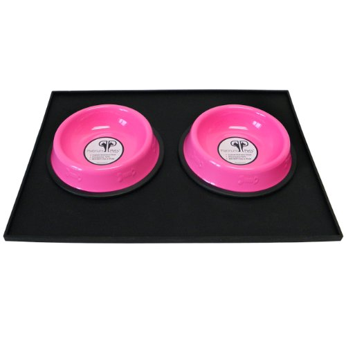Platinum Pets Heavy Duty Silicone Feeding Cat Mat With 2 6
