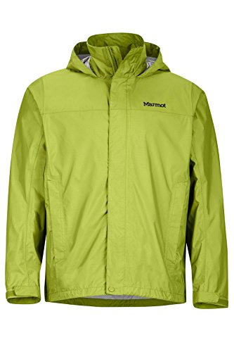 Marmot Men's PreCip Jacket, Green Lichen, L